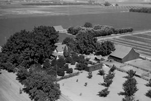 Aerial View of the Farm