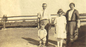 Graybill and Ellen Wenger pictured with daughter Katherine and son Kenneth